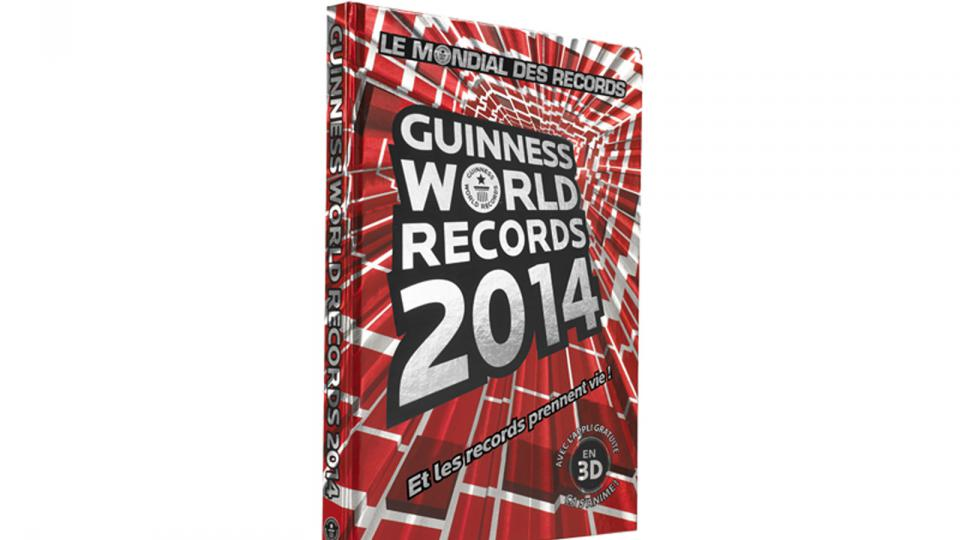Le Guinness World Records 2014.