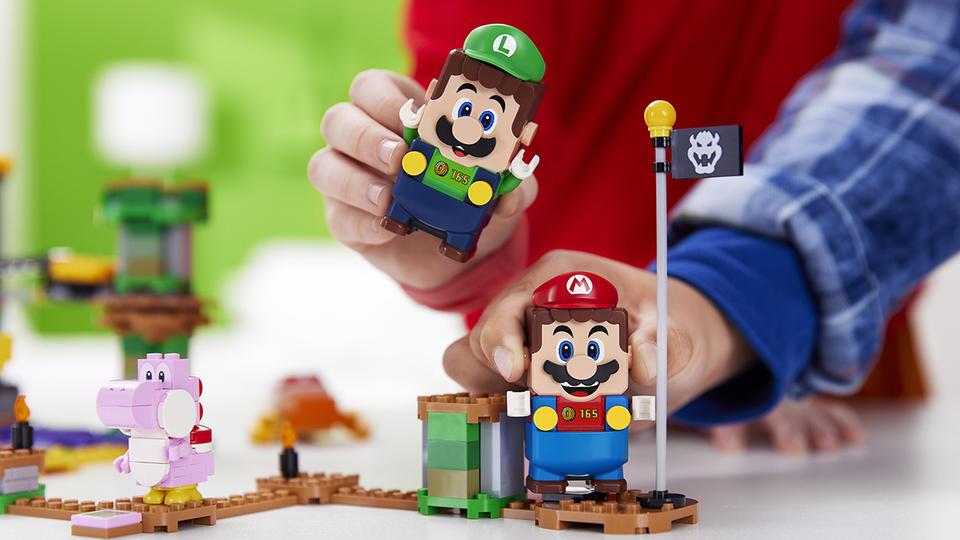 Lego Super Mario : Luigi arrive pour une aventure bien plus amusante
