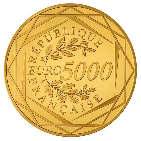 Une pi ce de 5000 euros - Valeur ancienne piece ...