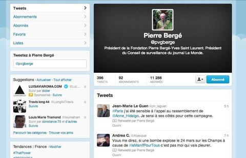 Une bombe sur les Champs Elysées... tweet_berger