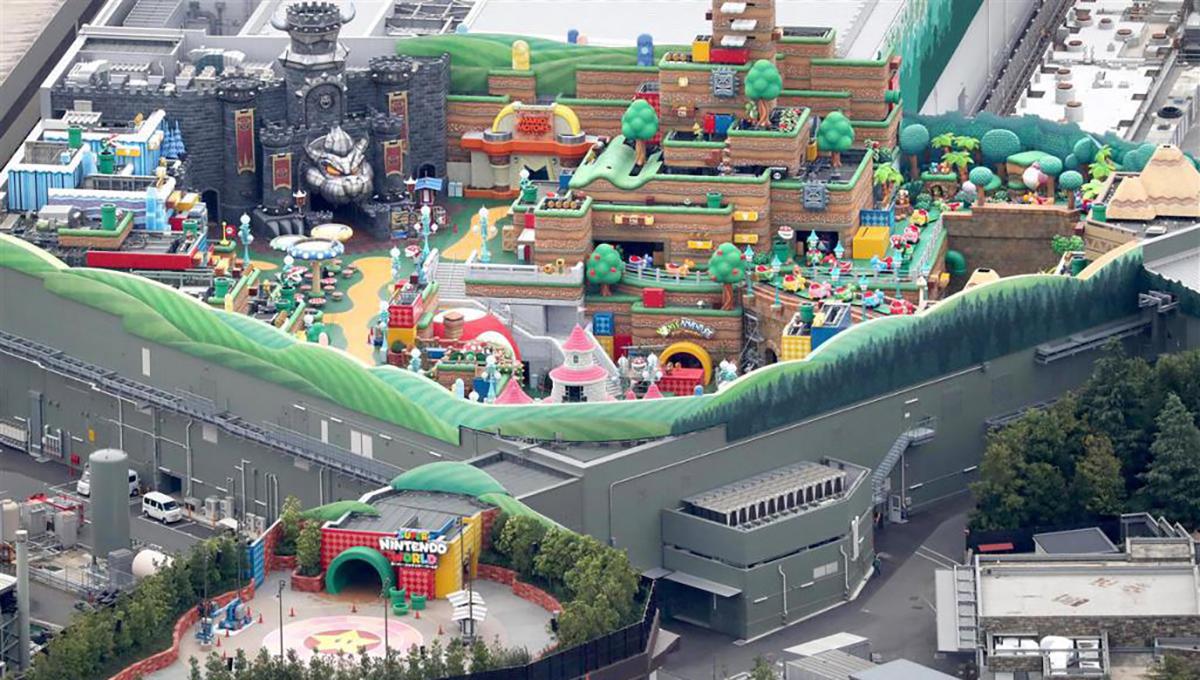 Super Nintendo World : le parc Mario prépare son ouverture au printemps 2021